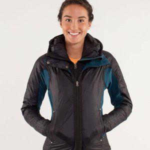 Lululemon Run and Bundle Fleece Jacket Zip Size 6